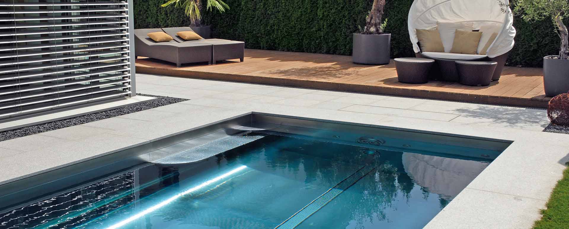 Stainless Steel Pools – Polytherm